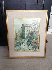 "Keirstead Print ""Clifton Mill"""