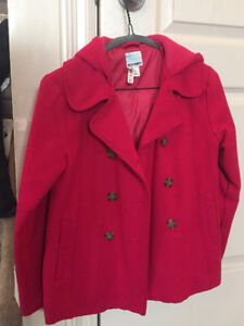 Gently worn girls size 8 fall/spring coat