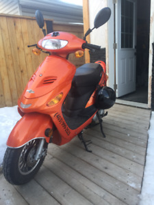 2017 49 cc Gas Scooter