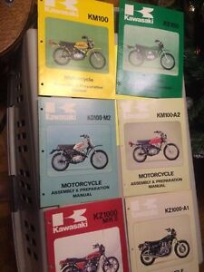 1970s Kawasaki Motorcycle Assembly & Preparation Manuals Regina Regina Area image 4