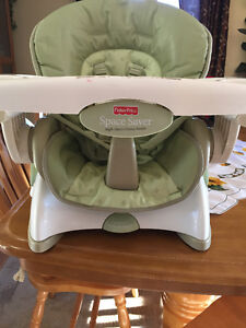 Fisher Prize Recliner Portable high chair (Like New)