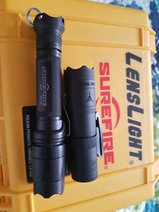 Surefire E2D Led 200 lumens/ Lenslight Mini Triple oath Edition