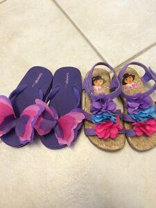 Girls size 7 sandals Regina Regina Area image 1