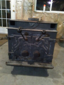 Wood stove for shop or hunt camp