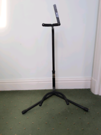 XCG Adjustable Guitar Stand Black Metal