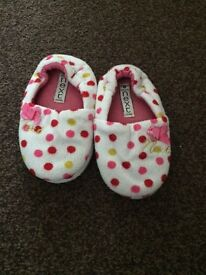 NEXT children's slippers