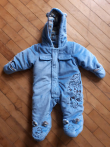 Baby winter suit