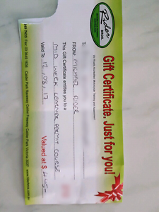 MOTORCYCLE LEARNER LICENCE VOUCHER GIFT Tullamarine Hume Area Preview