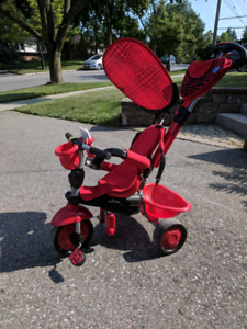 Smart Trike 3-in-1 tricycle - zoo ladybug