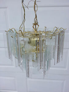 Chandelier light with chain
