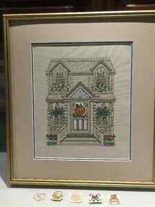 Framed Cross Stitch for sale !!