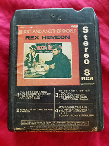Rex hemeon....bingo and another world