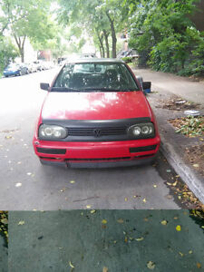 1994 Volkswagen Golf MK3 -- 900$ Negociable