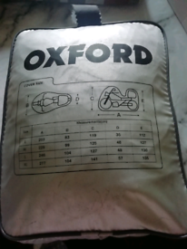 Oxford motorbike cover.