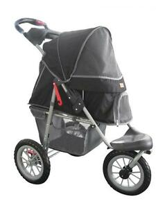 New-BestPet-Black-Pet-Jogger-Jogging-Dog-Cat-Stroller-Carrier