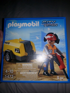 Playmobil play mobil city action