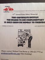 Golf Passes for Fernie Golf and Country Club