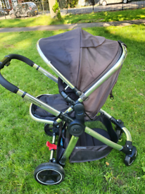 Mothercare journey 3in1, pram,pushchair&carseat