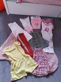 Girls clothes 5/6/7/8 Barbie , TU H&M