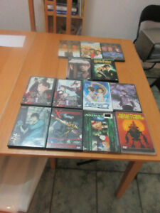 Lot de DVDs de Films  et Anime