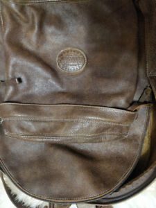 """Roots Leather Backpack """"Student Pack Tribe """""""