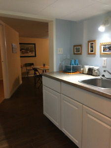 Furnished one bedroom apartment available for short term rentals