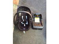 Group 0+ car seat