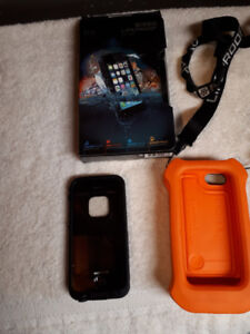 LifeProof Case and Floation Jacket for an iPhone 5