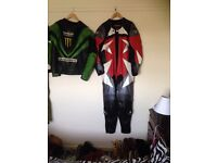 Frank Tomas leathers cost £200 will take £80 Ono