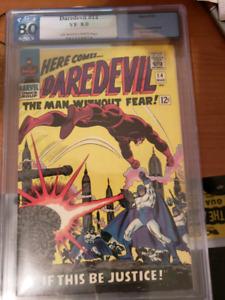 Daredevil #14 PGX Graded 8.0