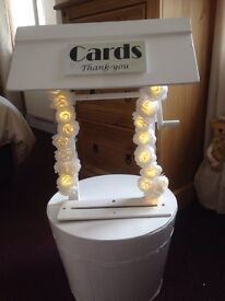 *To hire* card wishing well