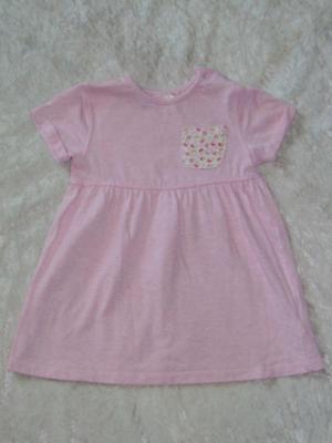 niedliches rosa Kleid in Gr.86 für kleine Mädchen (Rosa Kleider Für Kleine Mädchen)