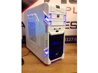 ULTRA QUICK NEW SIX CORE GAMING PC 8GB RAM 120GB SSD R7 360 WIN 7 Wi-Fi FREE DOOR DELIVERY GTA5