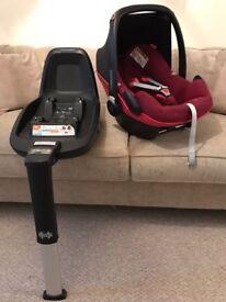 Car Seat Maxi-Cosi Pebble Plus + 2 way Isoxfix Base