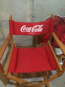 Coca Cola Stand Ups & Director's Chair Vintage Oakville / Halton Region Toronto (GTA) image 7
