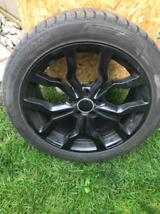 "Audi Replika 18"" wheels with Hankook WinteriCept Evo Tires"