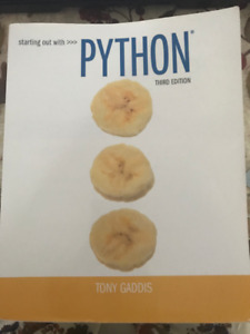 Starting Out with Python (3rd Edition) Paperback
