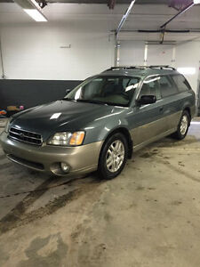 2001 Subaru Outback AWD Wagon Saftied