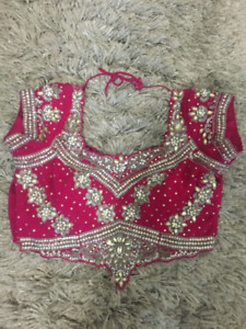 Fushia Wedding/Party Saree $450