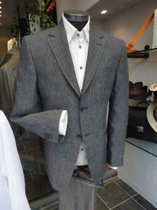 Men's jackets, suits,
