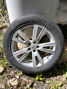 "Pneus d'hiver mags winter tires 17"""