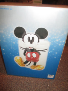 Vintage Mickey Mouse Cookie Jar - New with Box