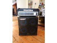 Hartke HA3500 and Ashdown Mini 48 bass amp and cab
