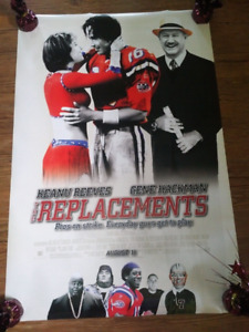 """The Replacements (2000) (Double Sided) 27""""x40"""" Movie Poster"""