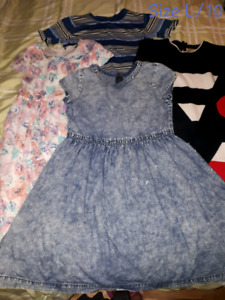 Size 8/M & 10/L Girls' Clothes in Good Condition