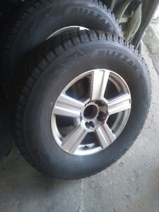 Virtually new, Pick up Winter tires & Rims used only 1 mnth