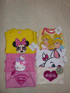 Baby Girls Onesies Clothes Lot of 6 *BRAND NEW* Sz 12-18 Months