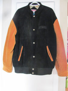 TWO TONE NEW SUEDE XL JACKET