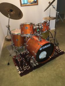 Drum Kit - 5 piece Yamaha Stage Custom all Birch Shells