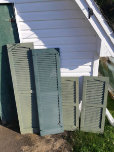 Shutters from Reno, Vinyl set of 4